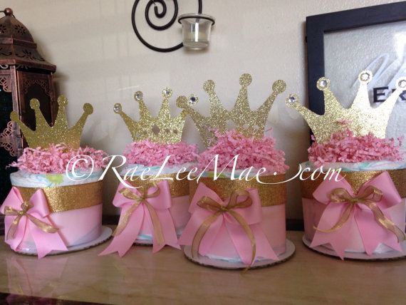 Princess Baby Shower Decoration And Party Favors Baby Shower Ideas