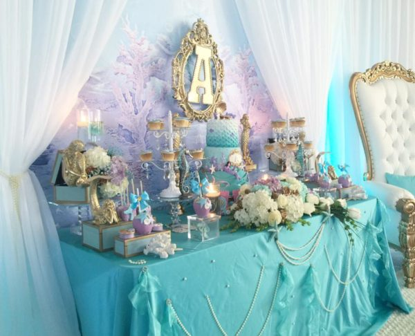 beautiful-golden-mermaid-baby-shower