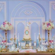 elegant-marie-antoinette-baby-shower-dessert-table