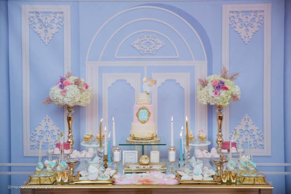 Elegant marie antoinette baby shower baby shower ideas for Dekoration fur babyparty
