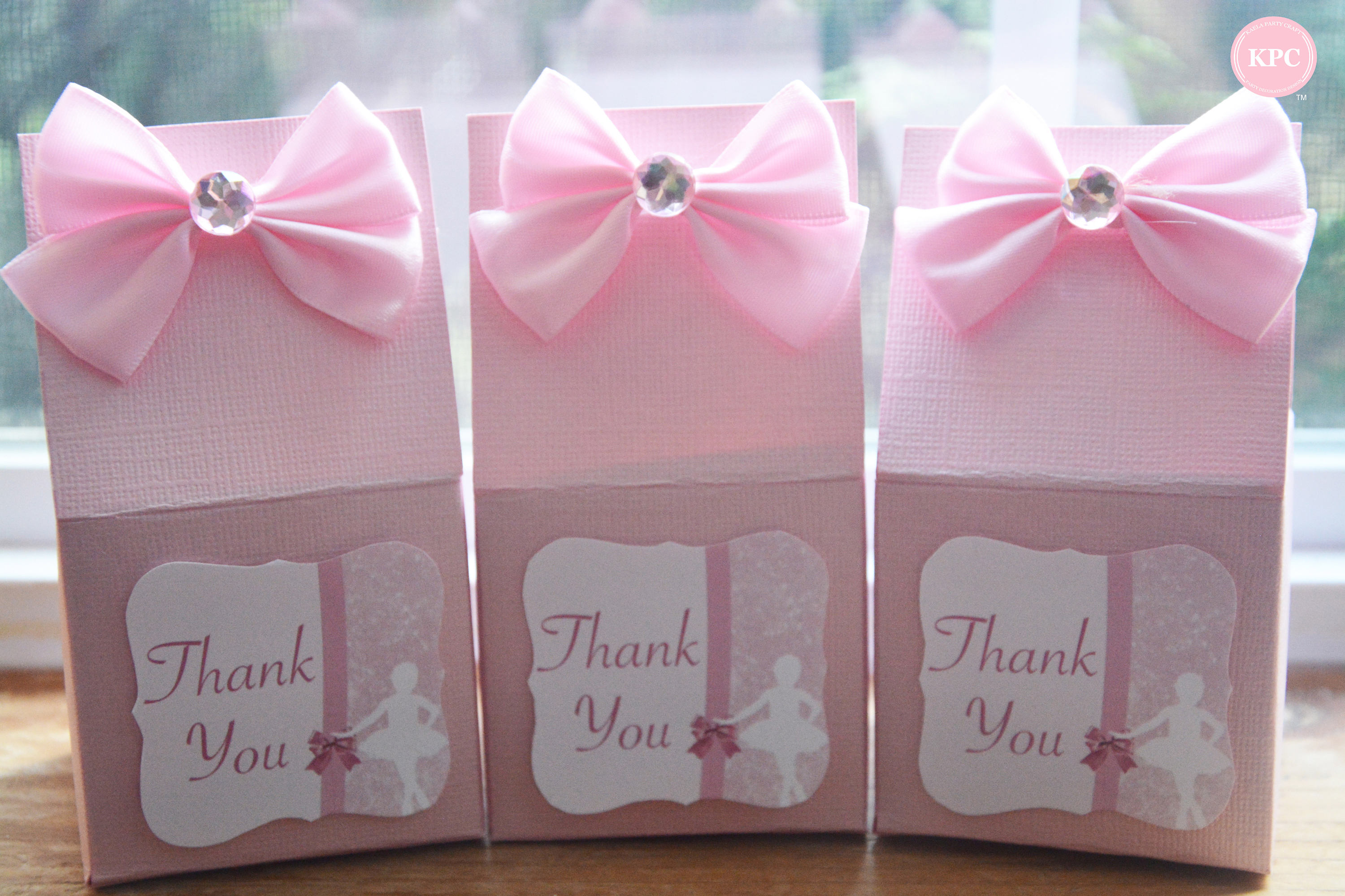 ballerina-favor-boxes-pink-ribbon-diamond - Baby Shower Ideas ...