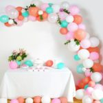 DIY balloon arch decoration