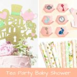 Tea Party Baby Shower Inspiration Board