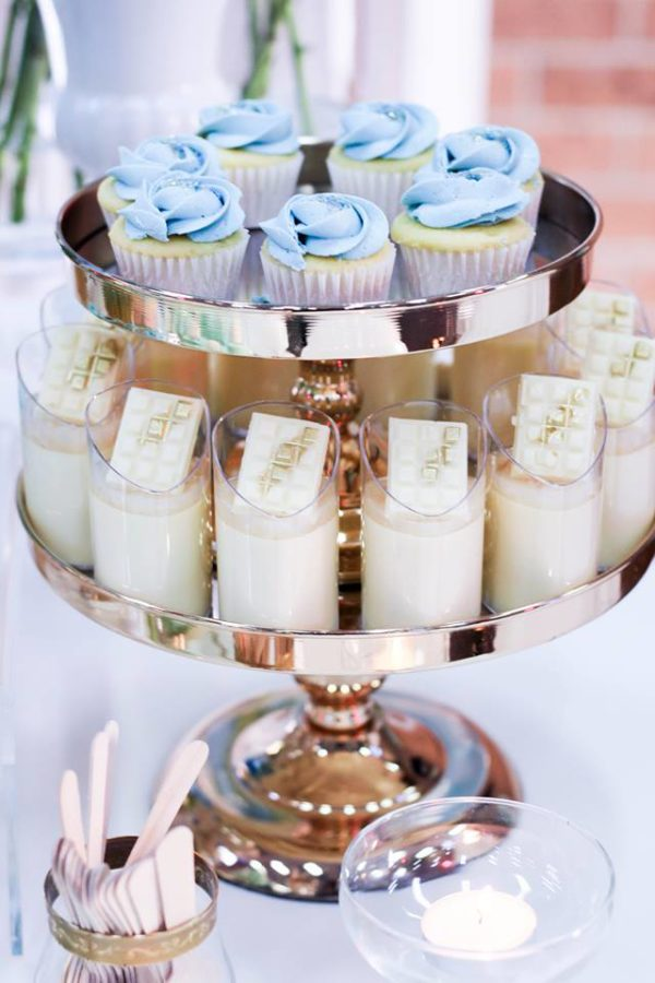 luscious-blue-and-gold-shower-desserts