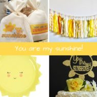 you-are-my-sunshine-baby-shower-inspiration-board
