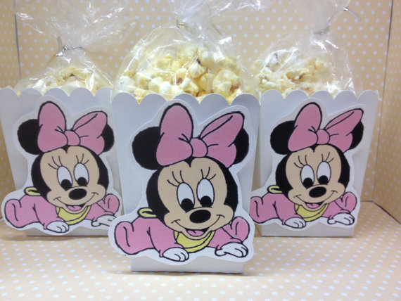 Minnie Mouse Baby Shower Decorations And Party Favors Baby Shower