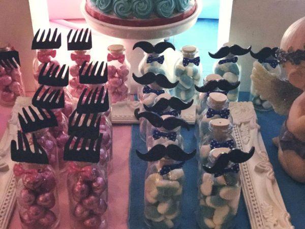 Mustache Or Eyelash Baby Shower Gender Reveal Baby