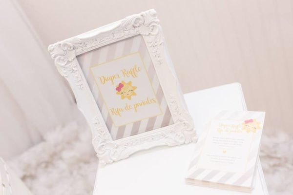 pastel-you-are-my-sunshine-shower-white-frame