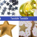 Twinkle Twinkle Little Star Baby Shower Inspiration Board