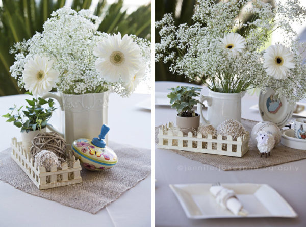 vintage-lamb-baby-shower-flowers