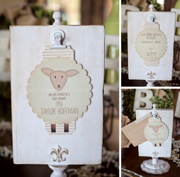 Vintage Lamb Baby Shower Baby Shower Ideas Themes Games