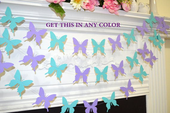 Exceptional Butterfly Garland