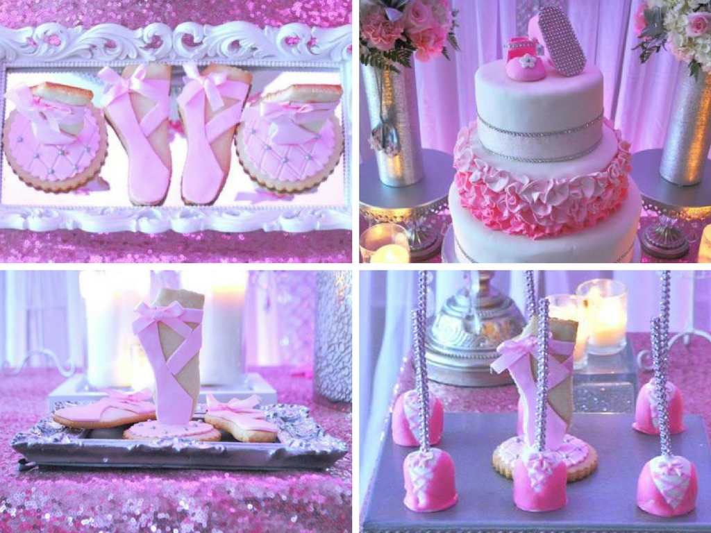 Beautiful Ballerina Baby Shower Baby Shower Ideas Themes Games