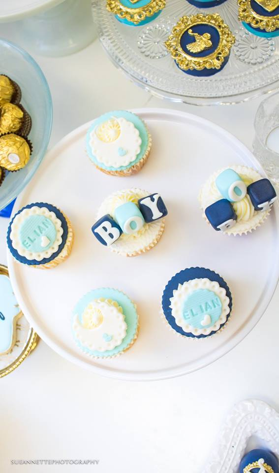 chic-blue-baby-shower-blue-cupcakes
