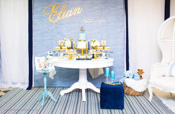 chic-blue-baby-shower-dessert-station