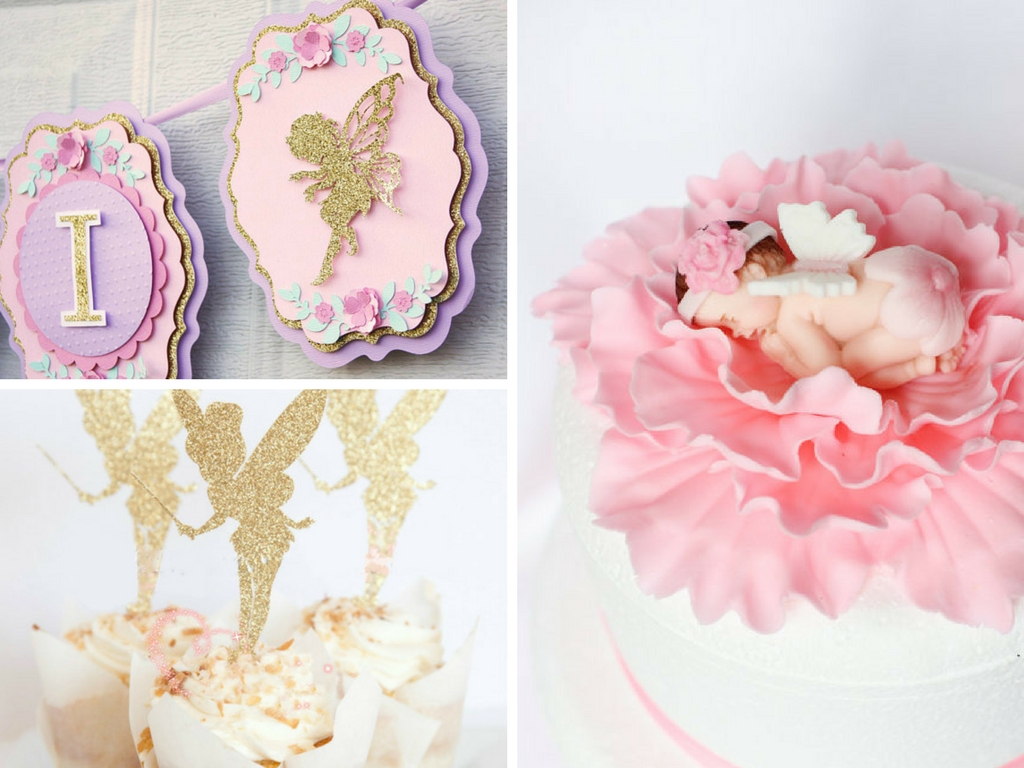 Fairy Themed Baby Shower Decorations And Party Favors