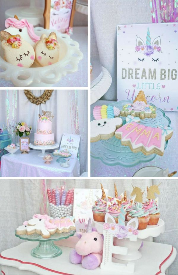 Unicorns Baby Shower Ideas Baby Shower Ideas Themes
