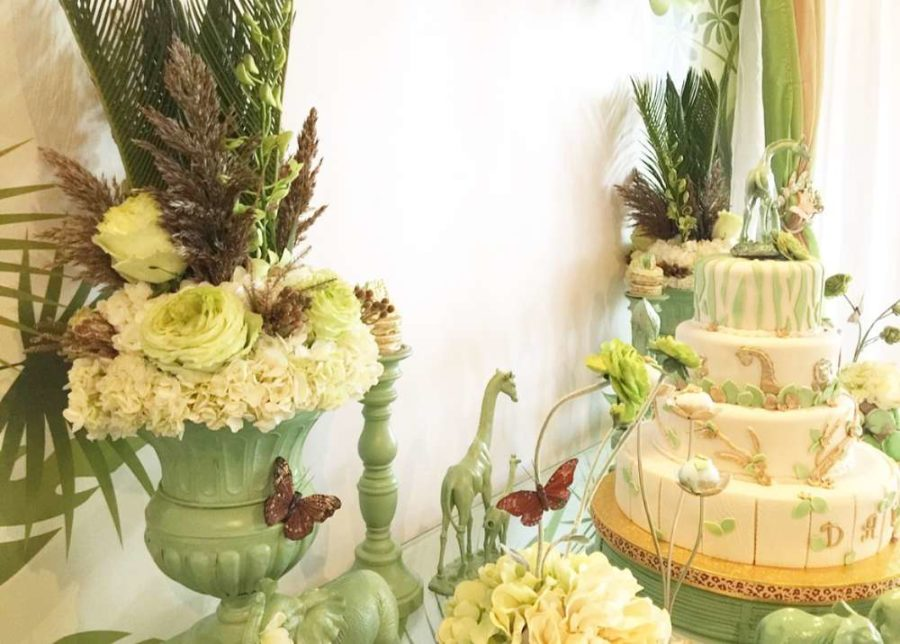 Mint Green Jungle Baby Shower Baby Shower Ideas Themes