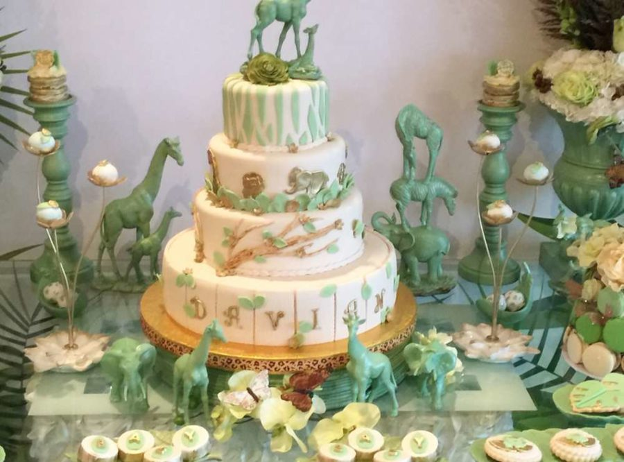 Mint Green Jungle Baby Shower Ideas Themes