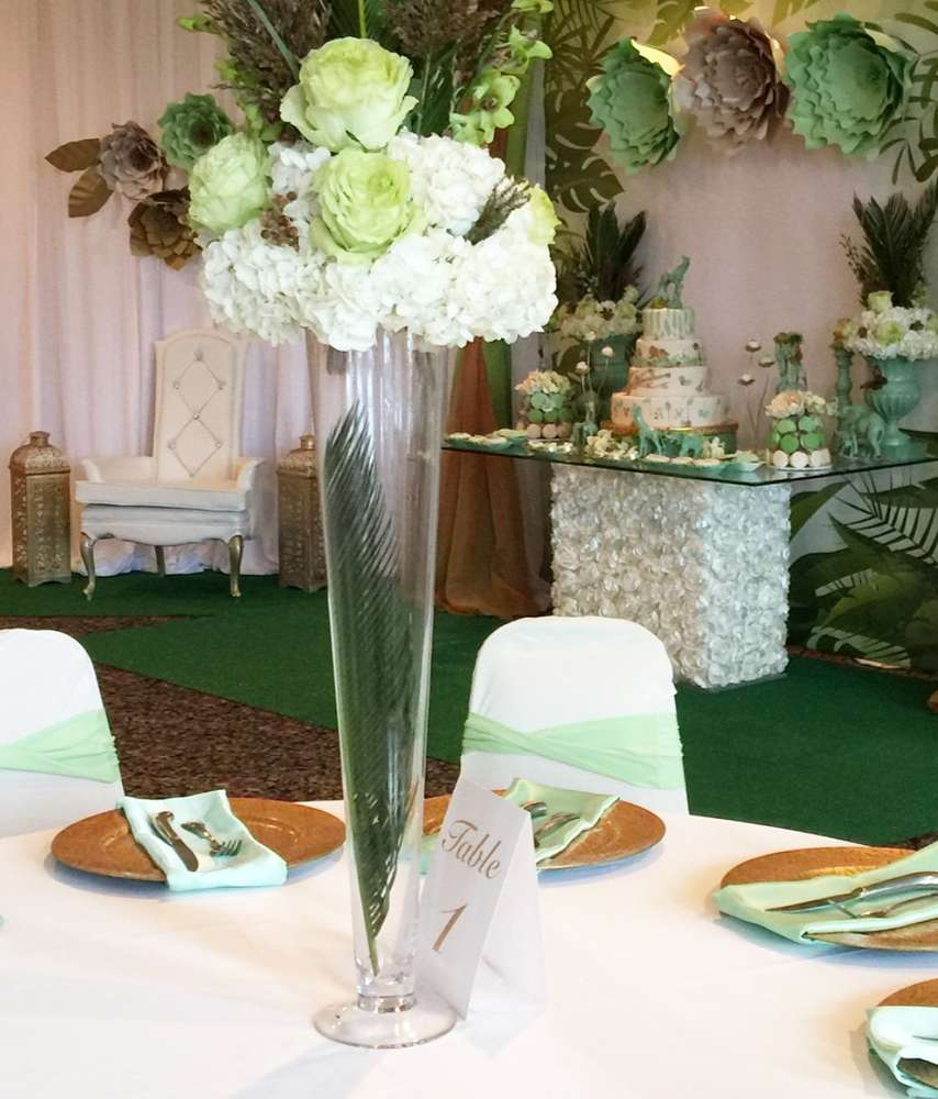 mint-green-jungle-baby-shower-guest-seating