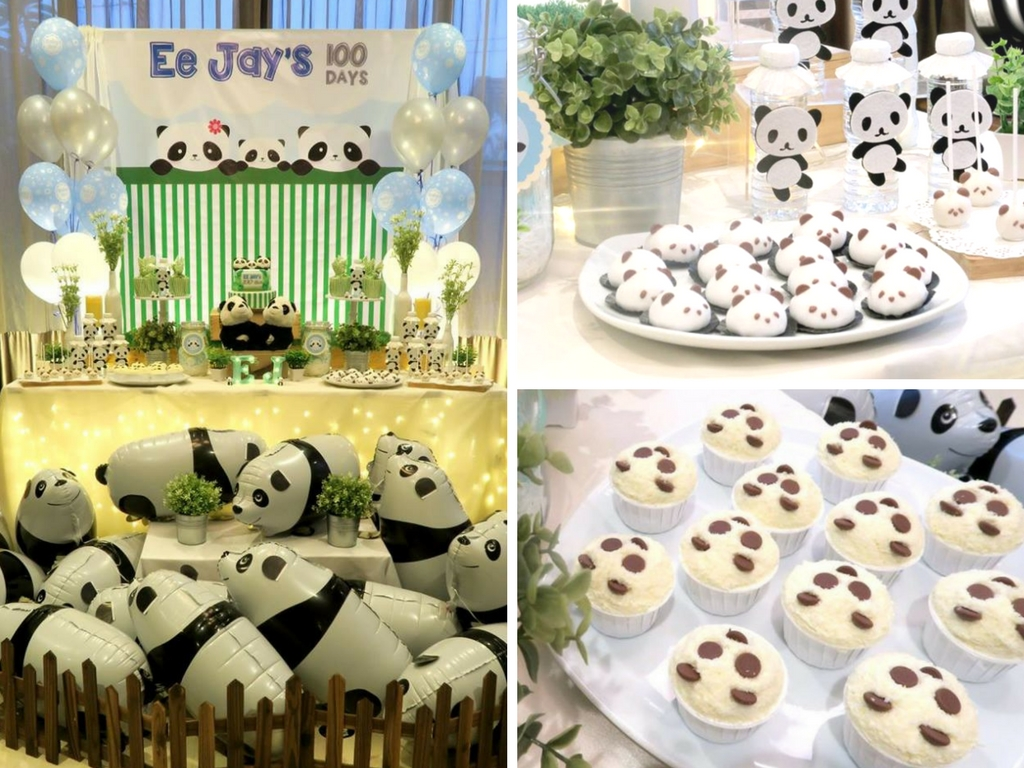 Panda Themed Baby Celebration