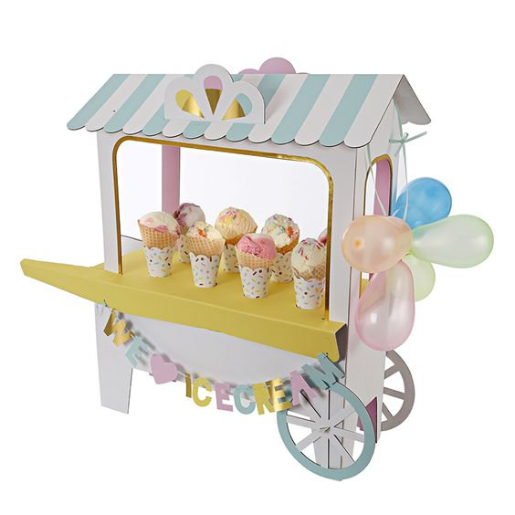 pastel-rainbow-icecream-cart-table-centrepiece-icecream-party