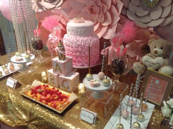 pretty-pink-and-gold-baby-shower-desserts