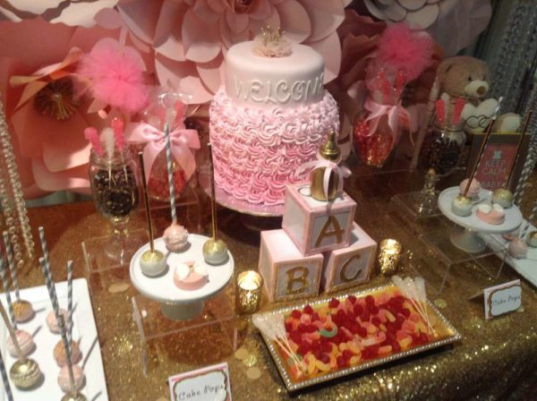 pretty-pink-and-gold-baby-shower-layered-cake