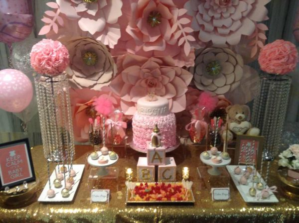 pretty-pink-and-gold-baby-shower-treats