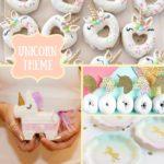 Unicorn Baby Shower Inspiration Board