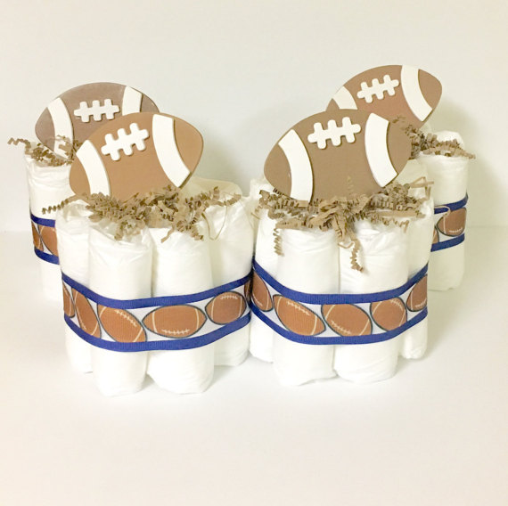 Football Themed Baby Shower Decorations And Party Favors