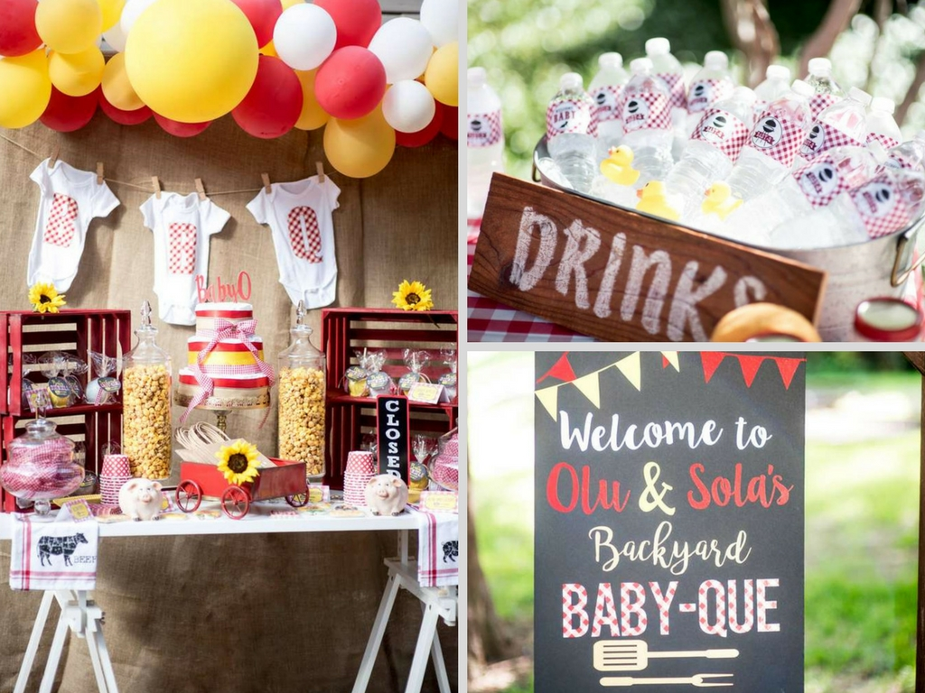 Backyard bbq baby shower baby shower ideas themes games for Baby shower bbq decoration ideas