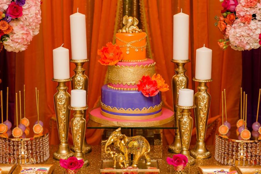colorful-moroccon-baby-shower-cake