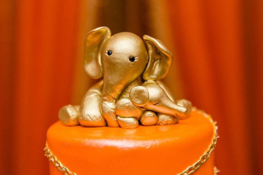 colorful-moroccon-baby-shower-elephant-topper