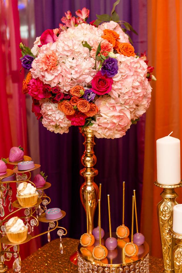 colorful-moroccon-baby-shower-flower-bouquet