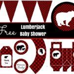 Free Lumberjack Baby Shower Party Printable