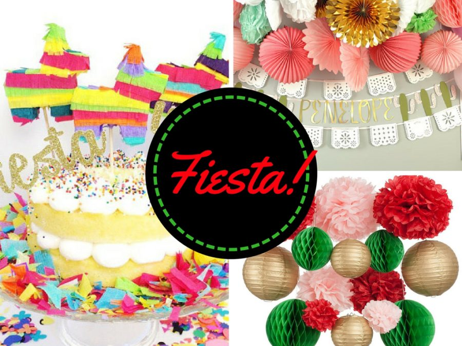 Fiesta Frenzy Baby Shower Inspiration Board