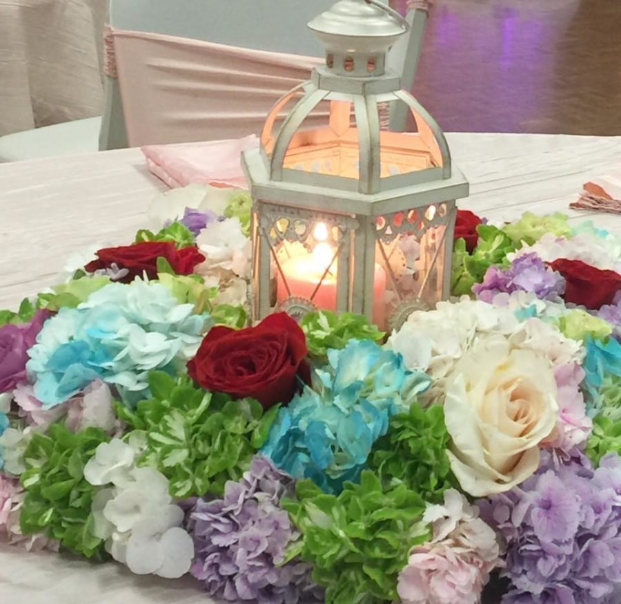 floral-moroccan-princess-baby-shower-centerpieces