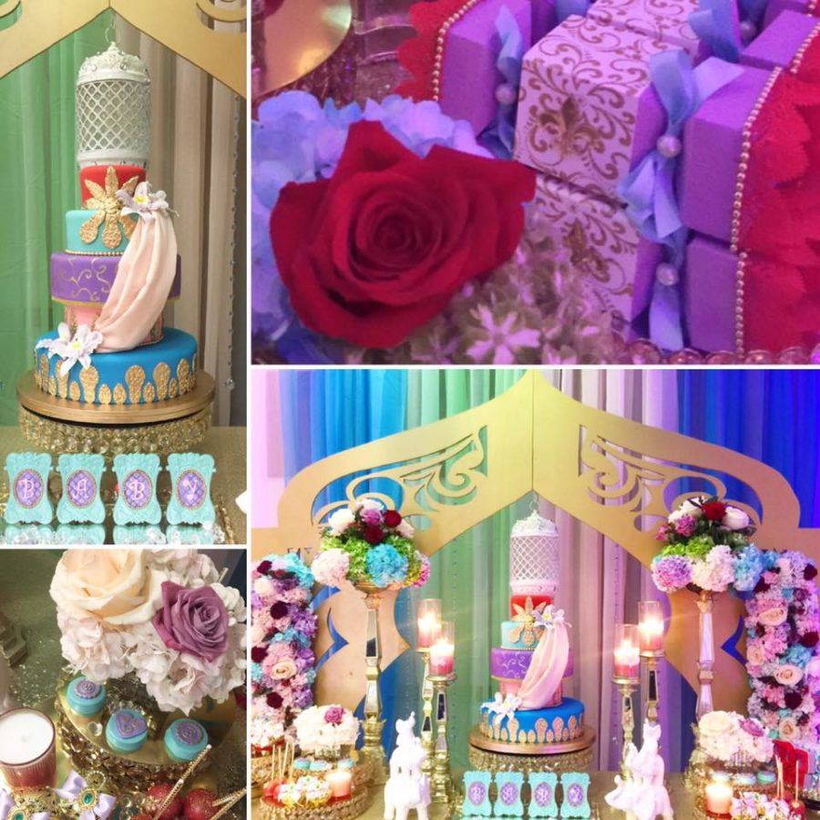floral-moroccan-princess-baby-shower-decorations