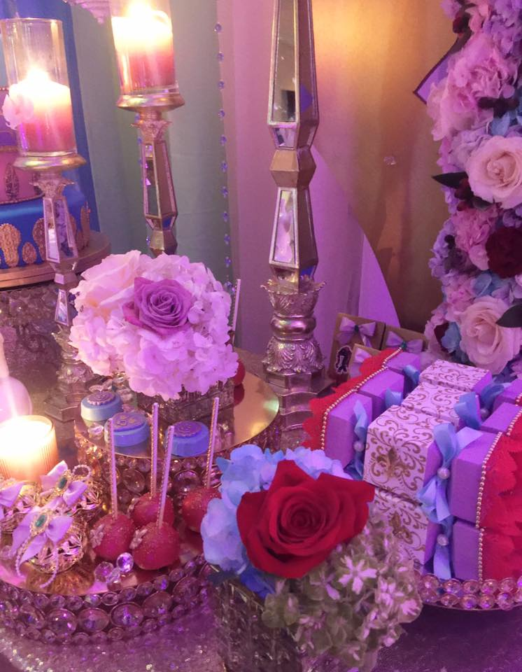floral-moroccan-princess-baby-shower-flowers