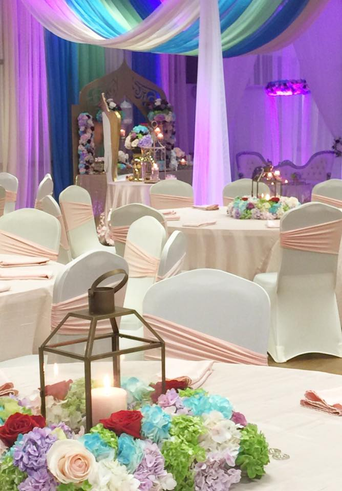 floral-moroccan-princess-baby-shower-guest-tables