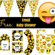 Free Emoji Printable