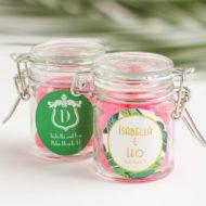 glass-favor-jars-tropical-baby-shower-favors