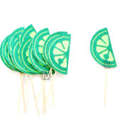 glitter-lime-slice-cupcake-toppers-fiesta-cupcake-toppers-mexico