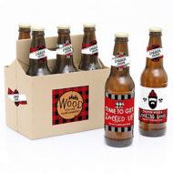 lumberjack-channel-the-flannel-buffalo-plaid-beer-bottle-label-stickers
