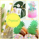 Tropical Baby Shower Theme Collection