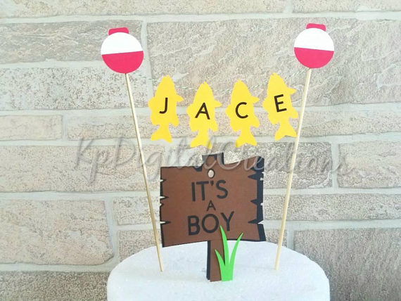 Fishing Themed Baby Shower Decorations And Party Favors Baby
