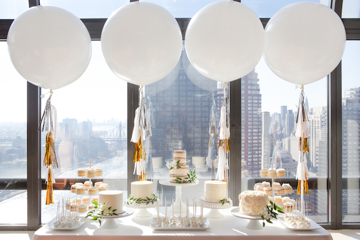 shimmering-chic-baby-shower-treat-table