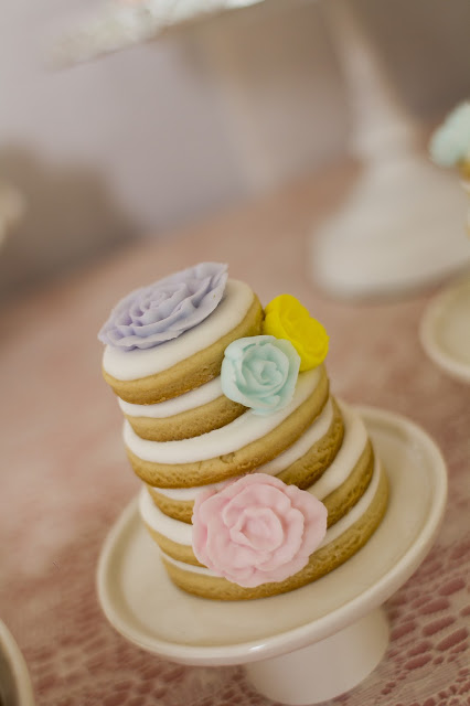 floral-tea-party-baby-shower-cookie-tower