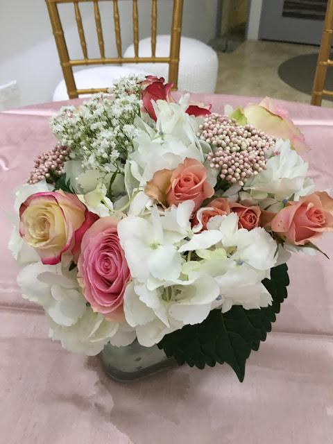 floral-tea-party-baby-shower-flower-bouquet